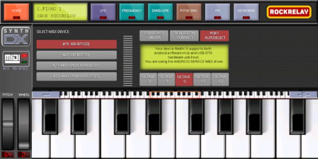 Rockrelay Synth FM screenshot 2