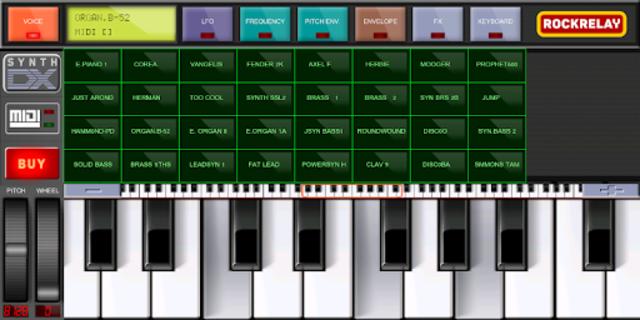 Rockrelay Synth FM screenshot 8