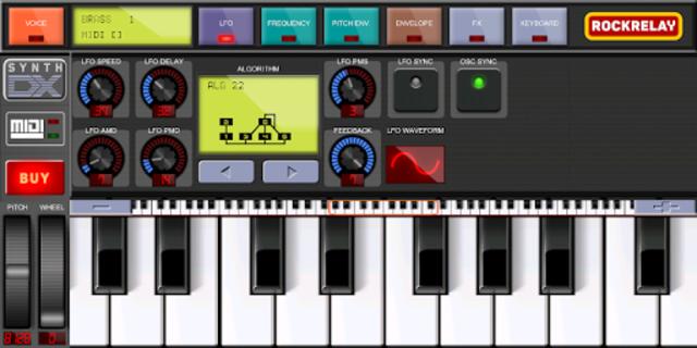 Rockrelay Synth FM screenshot 9
