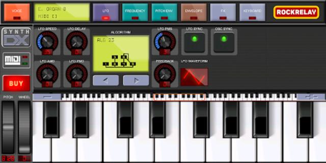 Rockrelay Synth FM screenshot 11