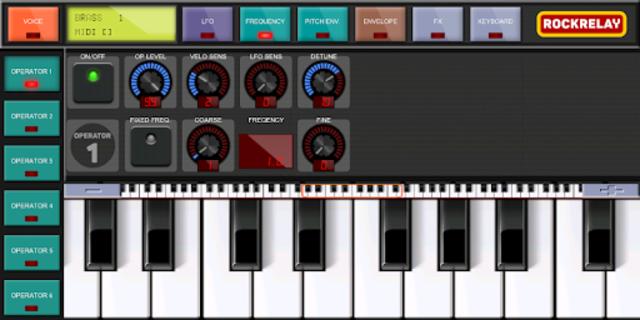 Rockrelay Synth FM screenshot 3