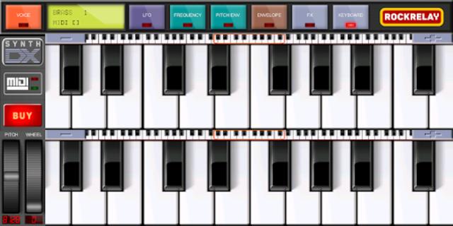 Rockrelay Synth FM screenshot 5