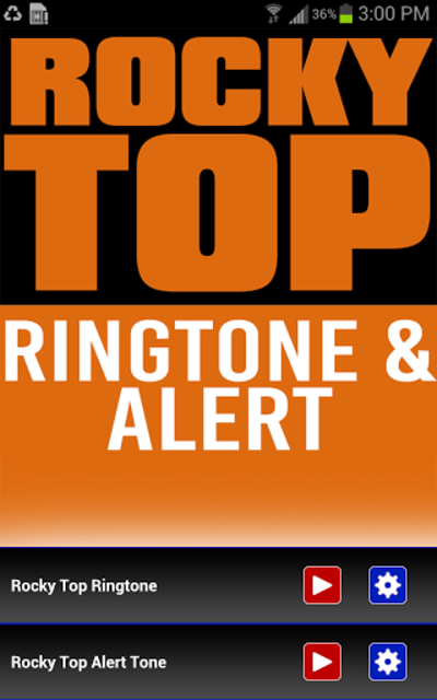 Rocky Top Ringtone screenshot 1