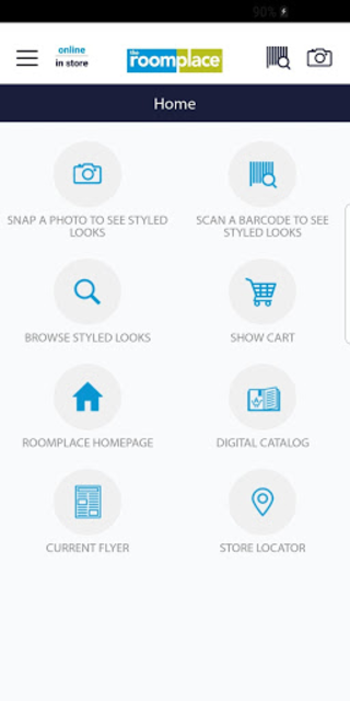 Style Your Space with The RoomPlace - Stylyze. screenshot 1