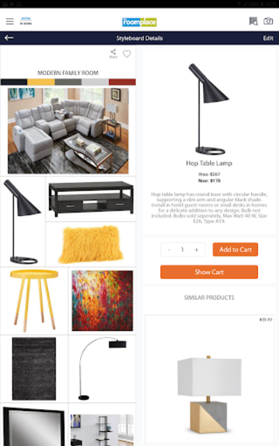 Style Your Space with The RoomPlace - Stylyze. screenshot 12