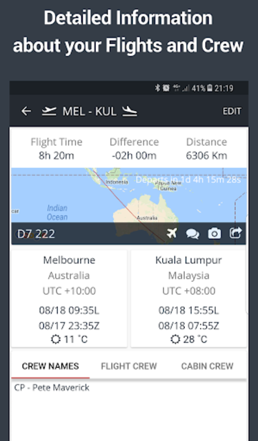 RosterBuster - flight and cabin crew roster app screenshot 4