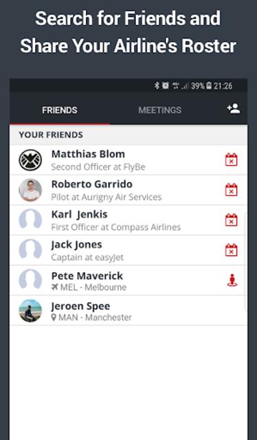 RosterBuster - flight and cabin crew roster app screenshot 8