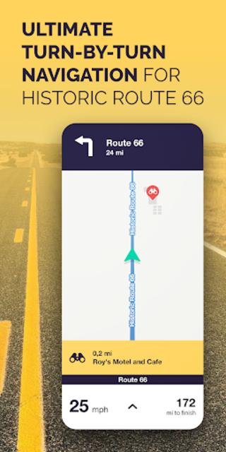 Route 66 Navigation screenshot 1