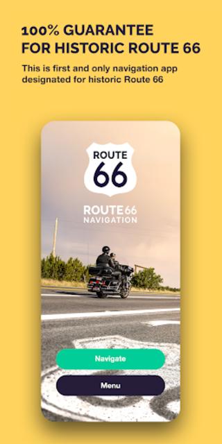 Route 66 Navigation screenshot 2