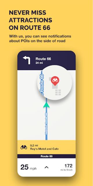 Route 66 Navigation screenshot 5