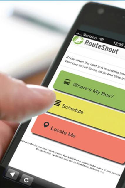 RouteShout 2.0 screenshot 1