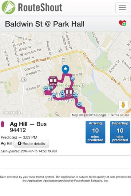 RouteShout 2.0 screenshot 2