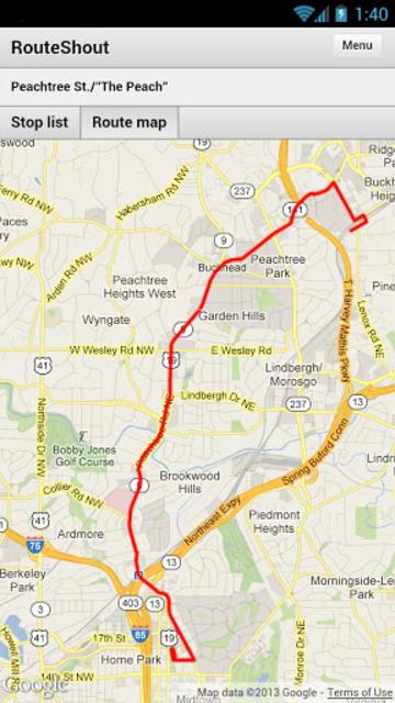 RouteShout screenshot 4