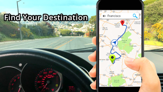 GPS, Maps, Directions & Navigation: Route Planner screenshot 1