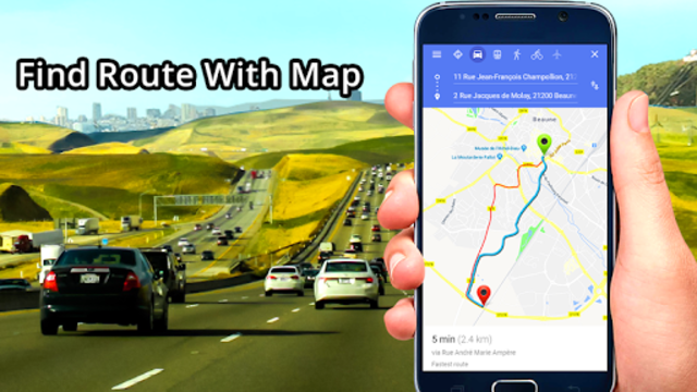 GPS, Maps, Directions & Navigation: Route Planner screenshot 2