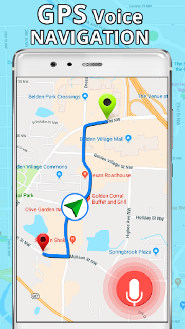 GPS, Maps, Directions & Navigation: Route Planner screenshot 3