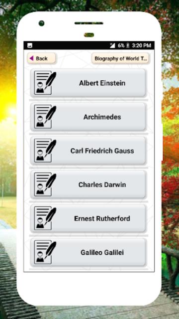 Biography of Famous Personalities Free in English screenshot 3