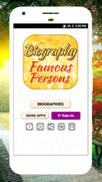 Biography of Famous Personalities Free in English screenshot 4