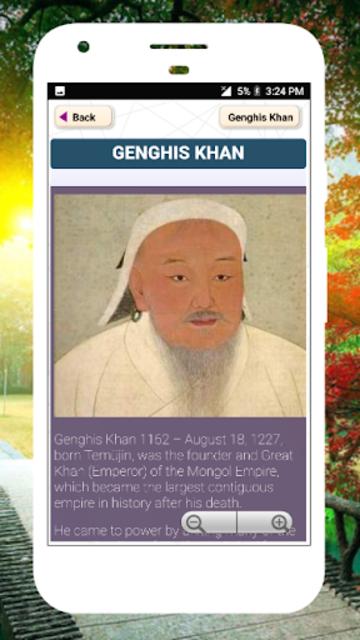 Biography of Famous Personalities Free in English screenshot 8