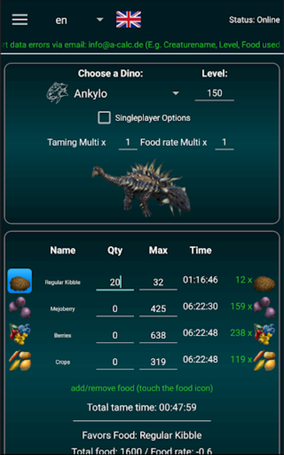 About A Calc Ark Tools Pro Ark Survival Evolved Google Play Version A Calc Ark Tools Pro Google Play Apptopia Survival evolved pc patch 258 introduced a new tamable canine called the hyaenodon. apptopia