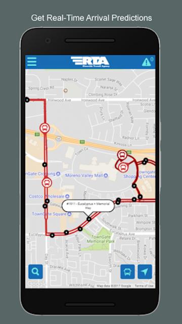 Riverside Transit BusWatch screenshot 1