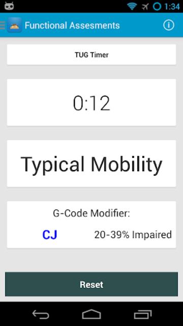 Functional Assessment + G-Code screenshot 3