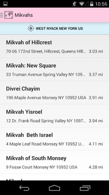 Mikvah - Jewish Family Purity screenshot 1