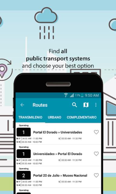 Transmilenio and Sitp screenshot 6