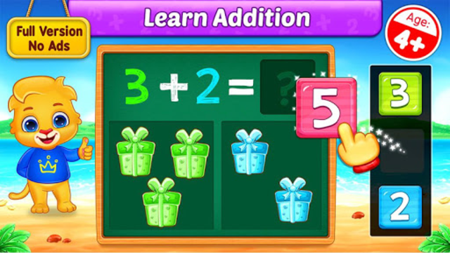 Math Kids - Add, Subtract, Count, and Learn screenshot 1