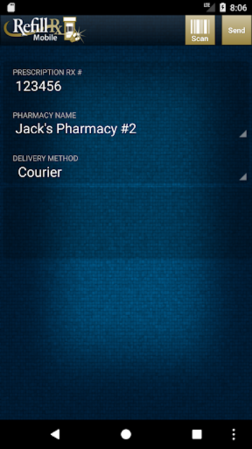 RefillRx Mobile screenshot 1