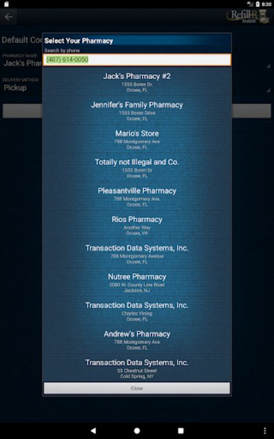 RefillRx Mobile screenshot 5