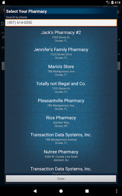 RefillRx Mobile screenshot 9