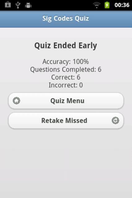 Sig Codes Quiz & Card screenshot 5
