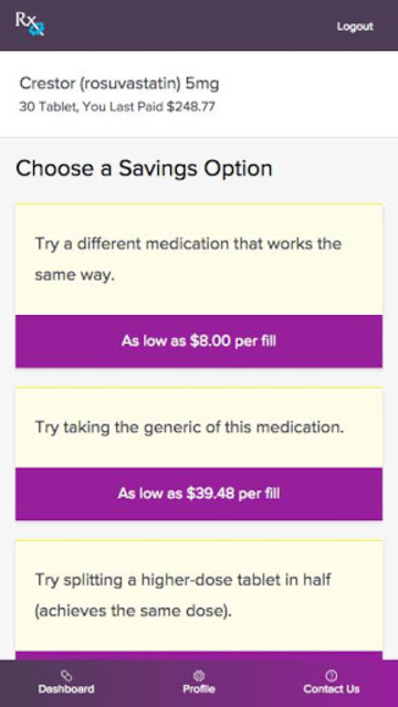 RX Savings Solutions screenshot 2