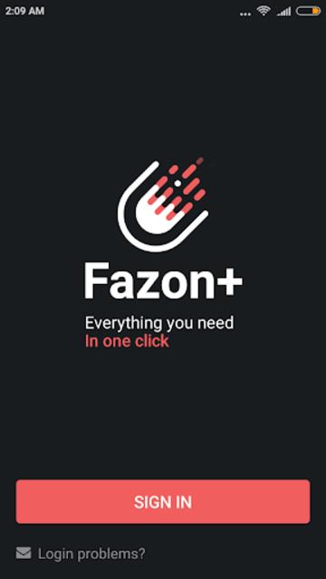Fazon+ screenshot 2