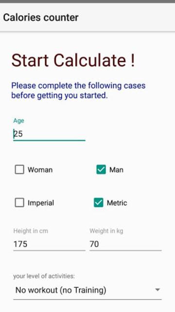 calories counter screenshot 4