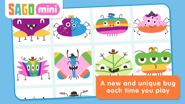 Sago Mini Bug Builder screenshot 13