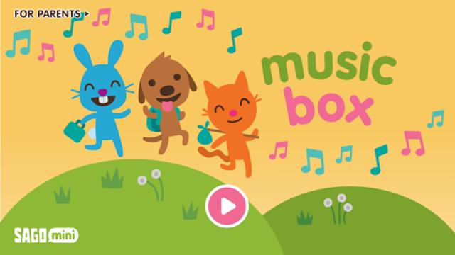 Sago Mini Music Box screenshot 1
