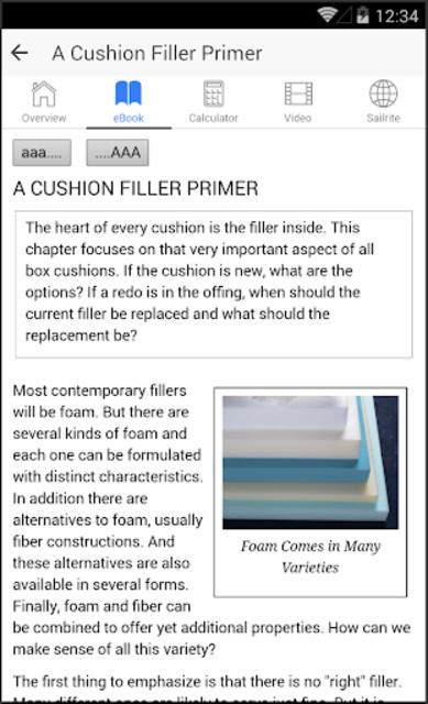 Box Cushion Fabrication screenshot 1