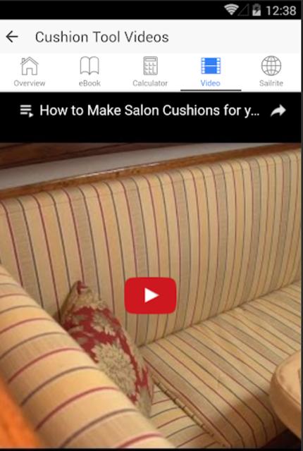 Box Cushion Fabrication screenshot 4