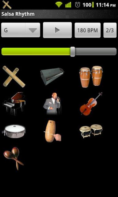 Salsa Rhythm screenshot 2