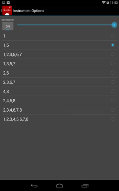 Salsa Rhythm screenshot 8