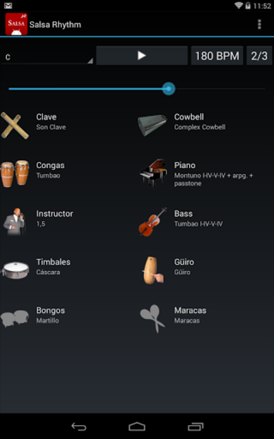 Salsa Rhythm screenshot 9