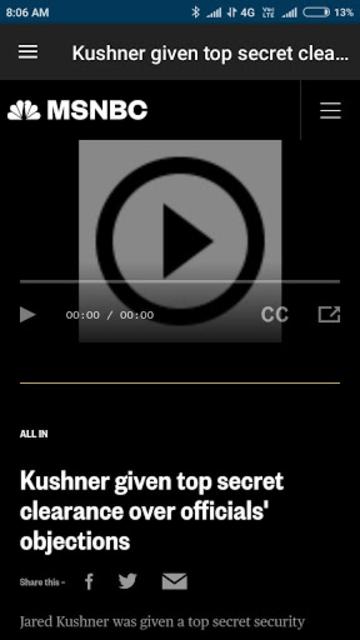 MSNBC - American News App screenshot 3