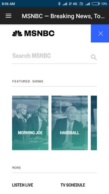 MSNBC - American News App screenshot 5