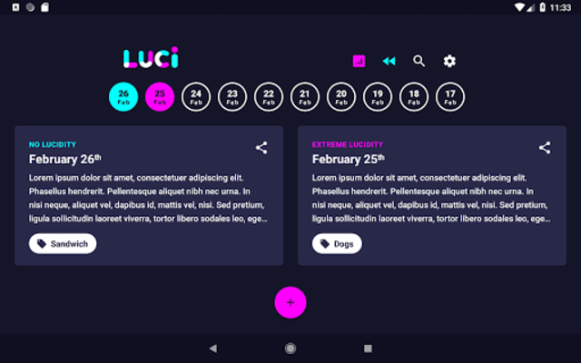 Luci - Dream Journal/Lucid Guide & Sleep Recorder screenshot 13