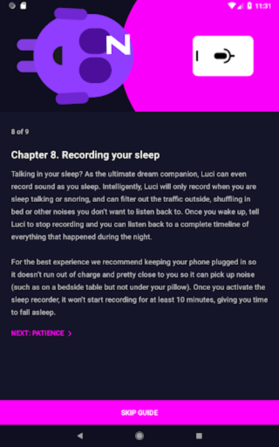 Luci - Dream Journal/Lucid Guide & Sleep Recorder screenshot 14