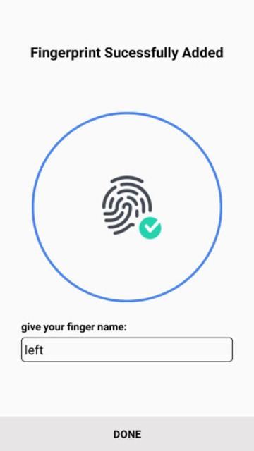 Samsung Fingerprint screenshot 1