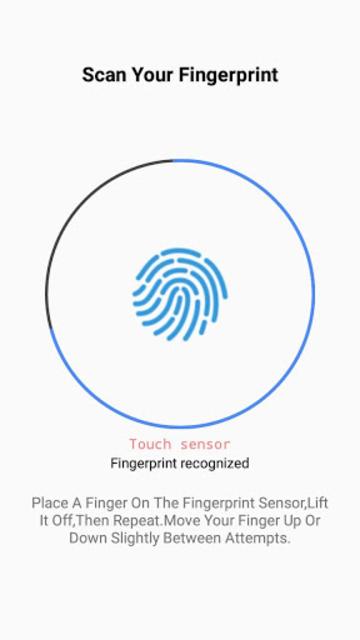 Samsung Fingerprint screenshot 2