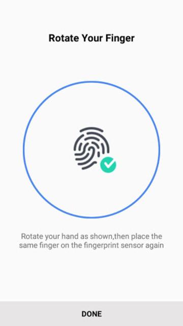 Samsung Fingerprint screenshot 5